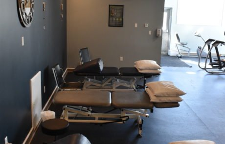 Open treatment area