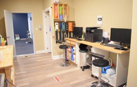 Back treatment area